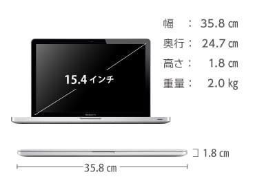MacBook Pro Retina 15インチ ME293J/A 画像2