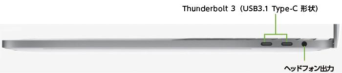 MacBook Pro Retina 15インチ MPTV2J/A(右側)