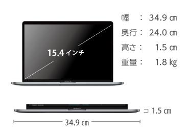 MacBook Pro Retina 15インチ MPTV2J/A 画像2