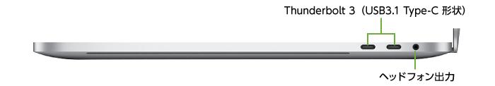 MacBook Pro Retina 15インチ MV922J/A(右側)