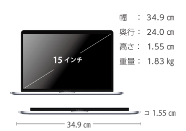 MacBook Pro Retina 15インチ MV922J/A 画像2