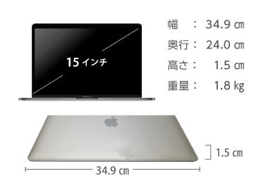 MacBook Pro Retina 15インチ MLW72J/A 画像2