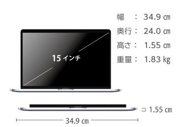MacBook Pro Retina 15インチ Z0V2【i9】 画像2
