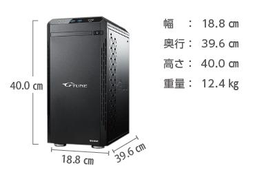 マウスコンピューター NEXTGEAR-MICRO im620PA2-SP-DL【マンスリーレンタル】 画像2