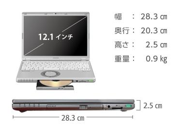 Panasonic レッツノート CF-SZ6 (メモリ8GB/SSD 128GBモデル) 画像1