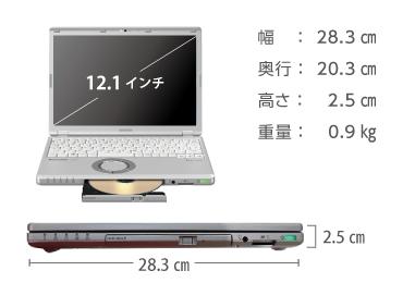 Panasonic  レッツノート CF-SZ6 (メモリ8GB/SSD 256GBモデル) 画像1