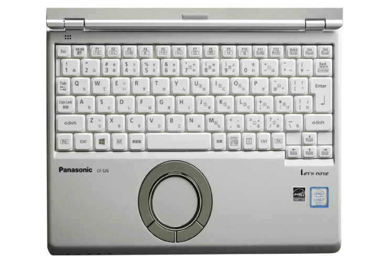 Panasonic レッツノート CF-SZ6BFBVS SIMフリー(前面)