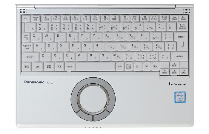 Panasonic レッツノート CF-SV7HD4VS (メモリ8GB/SSD 256Bモデル)(キーボード)