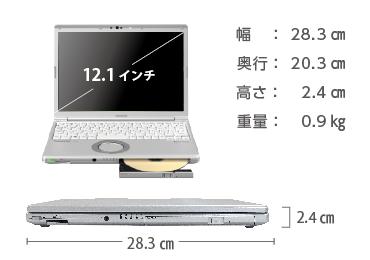 Panasonic レッツノート CF-SV7HD4VS (メモリ8GB/SSD 256Bモデル) 画像2