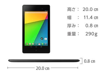 Google Nexus 7(2013) 画像2