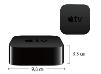 AppleTV 4K MQD22J/A サイズ