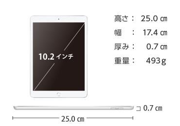 iPad 第7世代 10.2インチ 32GB SIMカードセット(容量40GB/月) 画像2