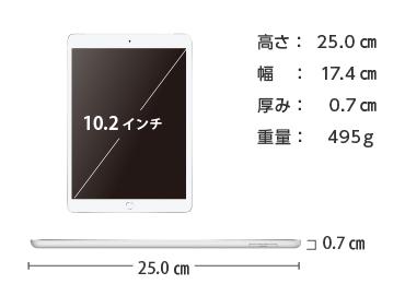 iPad 第8世代 10.2インチ 32GB SIMカードセット(容量20GB/月) 画像2