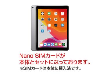 iPad Pro 第2世代 12.9インチ 64GB  SIMカードセット(容量20GB/月) 画像0