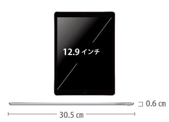 iPad Pro 第2世代 12.9インチ64GB Wi-Fi サイズ