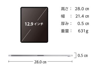 iPad Pro 第3世代 12.9インチ256GB Wi-Fi 画像2