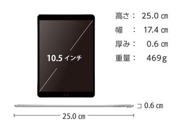 Apple iPad Pro 10.5インチ 64GB Wi-Fi 画像2