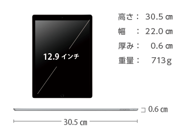 iPad Pro 第1世代 12.9インチ 32GB Wi-Fi 画像2