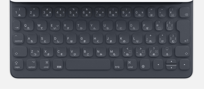 Apple smartkeyboard MPTL2J/A(10.2/10.5インチ用)/日本語(キーボード)