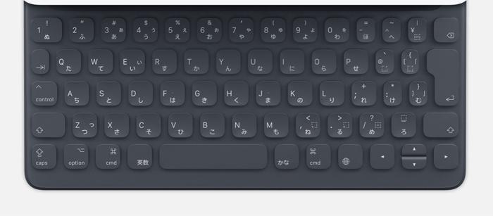 Apple smartkeyboard MNKT2J/A(12.9インチ用)/日本語(キーボード)
