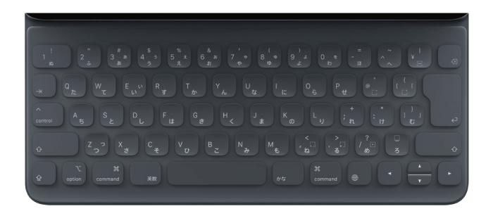Apple smartkeyboard MU8H2J/A(第3世代 12.9インチ用)/日本語(キーボード)