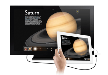 iPad VGA(RGB)映像出力アダプタLightningコネクタ 画像1