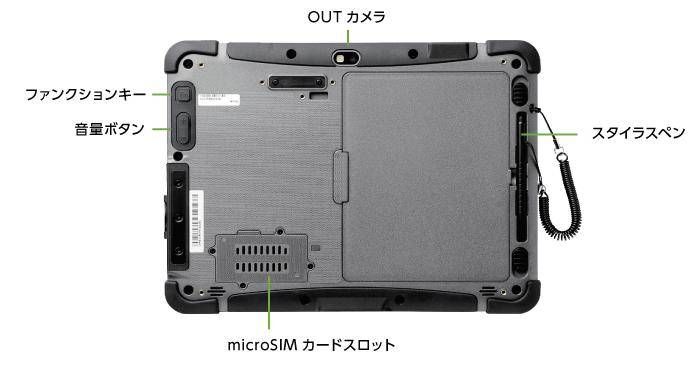 インターフェイス6 Logitec ZEROSHOCK LT-WMT10MD/BC92(docomo用SIMスロット搭載)