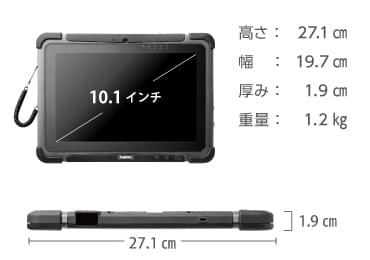 商品画像3 Logitec ZEROSHOCK LT-WMT10MD/BC92(docomo用SIMスロット搭載)
