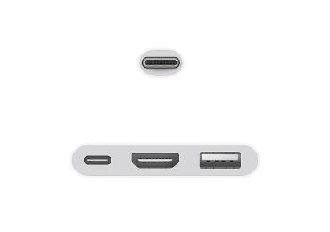 Apple USB-C Digital AV Multiportアダプタ 画像1
