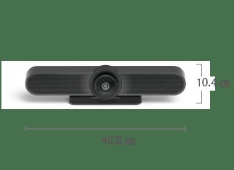 ロジクール MEETUP(Web会議用カメラ付マイクスピーカーフォン) サイズ