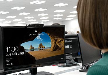 mouse Webカメラ CM02(Windows Hello対応) 画像2