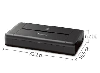 A4 カラーインクジェットプリンタ Canon モバイルプリンタ A4 iP110 サイズ