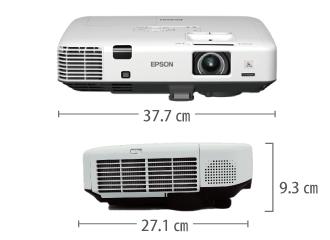 EPSON EB-1940W サイズ