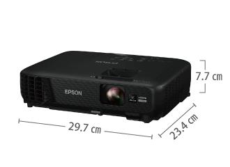 EPSON EB-W420 サイズ