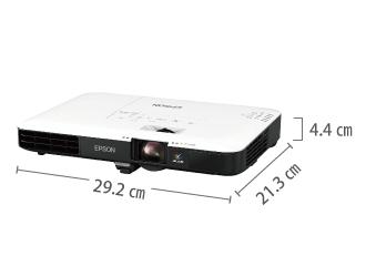 EPSON EB-1780W サイズ