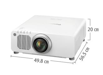 Panasonic PT-DX100W サイズ