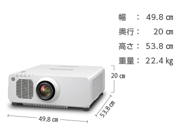 Panasonic PT-RW930J 画像1