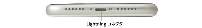 Apple iPhone11 64GB  シルバー(データ通信専用 ※音声通話不可)(下部)