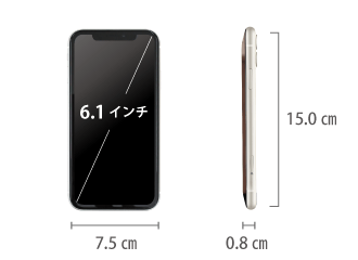 Apple iPhone11 64GB  ホワイト(データ通信専用 ※音声通話不可) サイズ