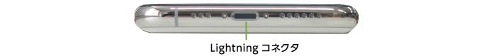 Apple iPhone11Pro 256GB  シルバー(データ通信専用 ※音声通話不可)(下部)