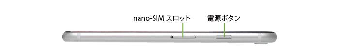 Apple iPhoneSE(第2世代)64GB  ホワイト (データ通信専用 ※音声通話不可)(右側)