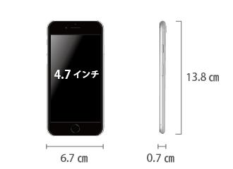 Apple iPhoneSE(第2世代)64GB  ホワイト (データ通信専用 ※音声通話不可) サイズ