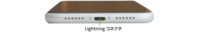 Apple iPhoneXR 128GB  ホワイト (データ通信専用 ※音声通話不可)(下部)