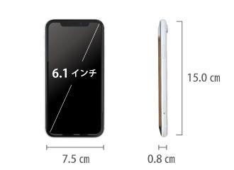 Apple iPhoneXR 128GB  ホワイト (データ通信専用 ※音声通話不可) サイズ