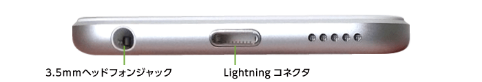 Apple iPod touch 32GB (第7世代)(下部)