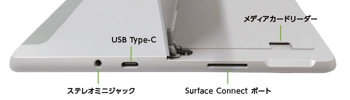 Microsoft Surface Go 2 (8GBモデル)(右側)