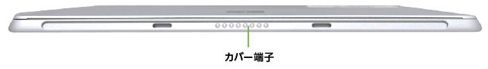 Microsoft Surface Go 2 (8GBモデル)(下部)