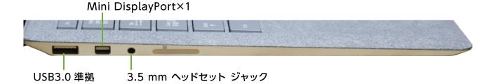 Microsoft Surface Laptop(右側)