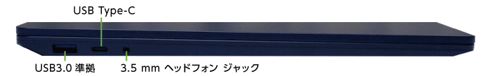 Microsoft Surface Laptop3(左側)