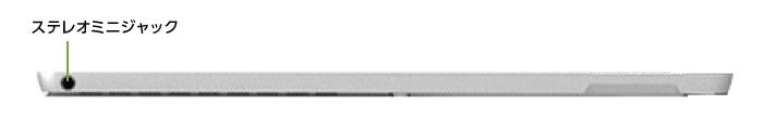 Microsoft Surface Pro2017(i7/8GBモデル)(右側)